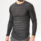 /achat-sweats-col-rond-crewneck/visionist-sweat-oversize-vs006-noir-blanc-138260.html