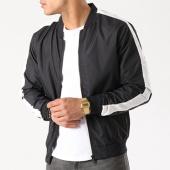 /achat-vestes/brave-soul-veste-zippee-bande-brodee-marvin-noir-blanc-138905.html