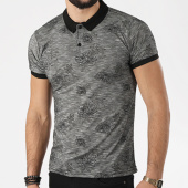 /achat-polos-manches-courtes/classic-series-polo-manches-courtes-2066-gris-anthracite-chine-floral-138763.html