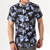 /achat-chemises-manches-courtes/classic-series-chemise-manches-courtes-3315-noir-bleu-clair-floral-138772.html