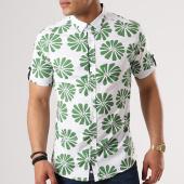 /achat-chemises-manches-courtes/classic-series-chemise-manches-courtes-3319-blanc-vert-floral-138777.html