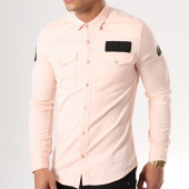 /achat-chemises-manches-longues/classic-series-chemise-manches-longues-patchs-brodes-g136-rose-pale-138809.html