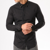 /achat-chemises-manches-longues/ikao-chemise-manches-longues-f155-noir-138796.html