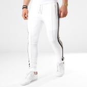 /achat-pantalons-joggings/project-x-pantalon-jogging-bandes-brodees-88184431-blanc-noir-dore-139090.html