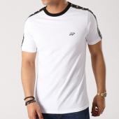 /achat-t-shirts/wrung-tee-shirt-bande-brodee-stripes-blanc-noir-138954.html