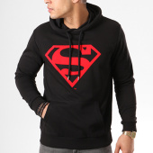/achat-sweats-capuche/superman-sweat-capuche-red-logo-noir-139165.html