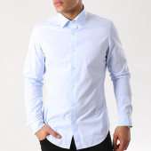 /achat-chemises-manches-longues/g-star-chemise-manches-longues-core-mop-d09263-9672-bleu-clair-139348.html