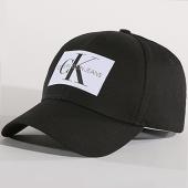 /achat-casquettes-de-baseball/calvin-klein-casquette-monogram-0256-noir-blanc-139362.html