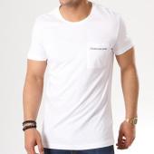 /achat-t-shirts-poche/calvin-klein-tee-shirt-poche-institutional-logo-7841-blanc-139413.html