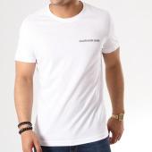 /achat-t-shirts/calvin-klein-tee-shirt-small-institutional-logo-chest-7852-blanc-139425.html