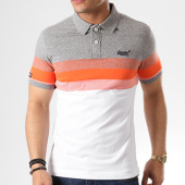/achat-polos-manches-courtes/superdry-polo-manches-courtes-classic-longbeach-blanc-gris-chine-orange-139576.html