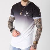 /achat-t-shirts-longs-oversize/final-club-tee-shirt-oversize-degrade-avec-broderie-052-noir-et-blanc-139887.html