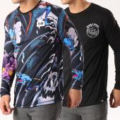 /achat-t-shirts-manches-longues/y-et-w-tee-shirt-manches-longues-reversible-dragon-noir-139909.html