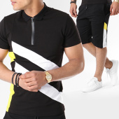 /achat-ensembles-survetement/classic-series-ensemble-polo-manches-courtes-short-jogging-8001b-noir-blanc-jaune-140335.html