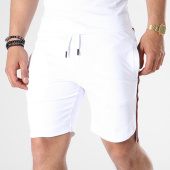 /achat-shorts-jogging/classic-series-short-jogging-bandes-brodees-8010-blanc-rouge-noir-140341.html