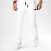 /achat-jogger-pants/john-h-jogger-pant-avec-zips-7666-blanc-140360.html