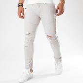 /achat-jeans/john-h-jean-slim-dechire-avec-zips-c001-gris-clair-140388.html
