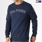 /achat-sweats-col-rond-crewneck/tommy-hilfiger-jeans-sweat-crewneck-um0um00572-bleu-marine-140446.html
