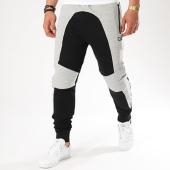 /achat-pantalons-joggings/unkut-pantalon-jogging-self-gris-chine-noir-140441.html