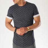 /achat-t-shirts-longs-oversize/aarhon-tee-shirt-oversize-3-18-001d-bleu-marine-140510.html