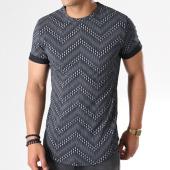 /achat-t-shirts-longs-oversize/aarhon-tee-shirt-oversize-18-001e-noir-gris-140693.html
