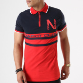 /achat-polos-manches-courtes/geographical-norway-polo-manches-courtes-kails-bleu-marine-rouge-140677.html