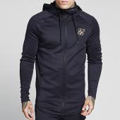/achat-vestes/siksilk-veste-zippee-capuche-oversize-athlete-zip-trought-12268-noir-dore-140629.html