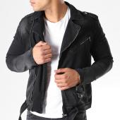 /achat-vestes-jean/classic-series-veste-jean-zippee-1835-noir-140814.html