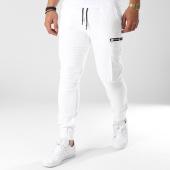 /achat-jogger-pants/john-h-jogger-pant-avec-zips-7663-blanc-140815.html