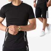 /achat-ensembles-survetement/john-h-ensemble-tee-shirt-oversize-short-jogging-618-noir-blanc-140868.html