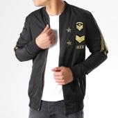 /achat-vestes/terance-kole-veste-zippee-patchs-brodes-79602-noir-dore-140793.html