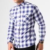 /achat-chemises-manches-longues/classic-series-chemise-manches-longues-16363-bleu-marine-blanc-140926.html