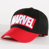 /achat-casquettes-de-baseball/marvel-casquette-red-brick-logo-bill-noir-rouge-140942.html