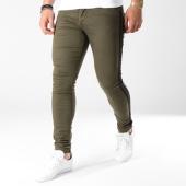 https://www.laboutiqueofficielle.com/achat-jeans/jean-skinny-bandes-brodees-88180026-vert-kaki-noir-140914.html