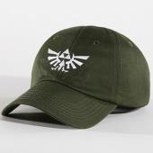 /achat-casquettes-de-baseball/zelda-casquette-tri-force-logo-2d-vert-kaki-140951.html