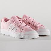 /achat-baskets-basses/adidas-baskets-femme-nizza-cq2539-pink-footwear-white-140987.html
