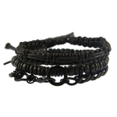 /achat-bracelets/icon-brand-lot-de-3-bracelets-one-two-zero-nine-noir-gris-anthracite-141083.html
