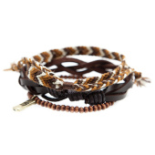 /achat-bracelets/icon-brand-lot-de-3-bracelets-outbound-combo-marron-blanc-141092.html