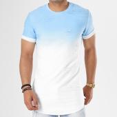 /achat-t-shirts-longs-oversize/john-h-tee-shirt-oversize-t09165-bleu-clair-degrade-blanc-141124.html