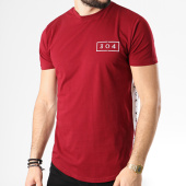 /achat-t-shirts-longs-oversize/304-clothing-tee-shirt-oversize-avec-bandes-essentials-bordeaux-blanc-141189.html