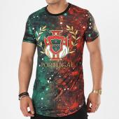 /achat-t-shirts-longs-oversize/john-h-tee-shirt-oversize-1877-vert-rouge-141321.html