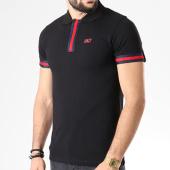 /achat-polos-manches-courtes/unkut-polo-manches-courtes-bandes-brodees-lucca-noir-bleu-marine-rouge-141221.html