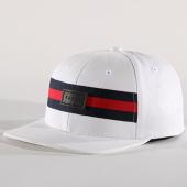 /achat-snapbacks/unkut-casquette-snapback-bandes-brodees-pisa-blanc-141225.html