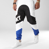 /achat-pantalons-joggings/unkut-pantalon-jogging-sharp-noir-blanc-bleu-roi-141229.html