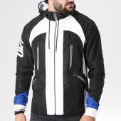 /achat-vestes/unkut-veste-zippee-capuche-sharp-noir-blanc-bleu-roi-141230.html