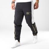 /achat-pantalons-joggings/unkut-pantalon-jogging-feel-noir-vert-kaki-blanc-141244.html