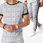 /achat-ensembles-survetement/frilivin-ensemble-tee-shirt-oversize-pantalon-jogging-a-carreaux-avec-bandes-5003-noir-gris-141393.html