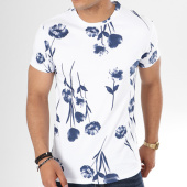 /achat-t-shirts/aarhon-tee-shirt-9001fl-blanc-bleu-marine-floral-141508.html