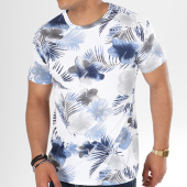 /achat-t-shirts/aarhon-tee-shirt-9001fg-blanc-bleu-marine-floral-141512.html