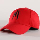 /achat-casquettes-de-baseball/ninho-casquette-logo-rouge-noir-141500.html